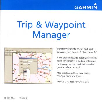 Garmin Trip and Waypoint Manager