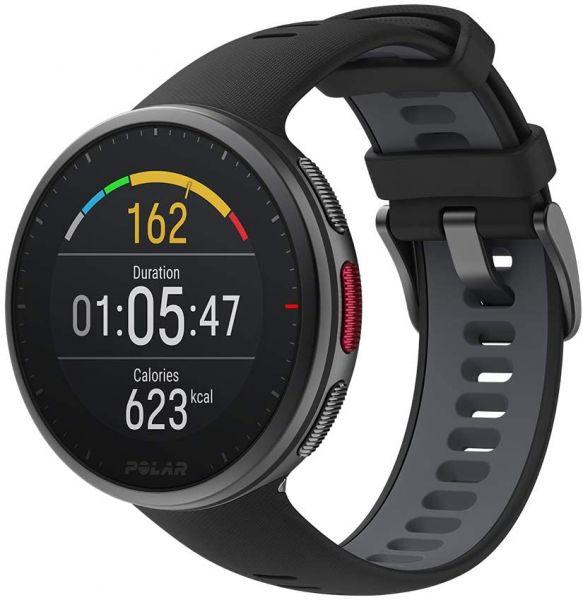 Polar Vantage V2 Multisportuhr Smartwatch schwarz vom Fitness-/Navi-Fachhändler 90082710