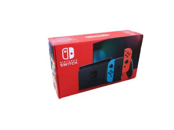 Nintendo Switch Konsole - Neon-Rot/Neon-Blau (neue Edition) vom Fitness-/Navi-Fachhändler 10004237